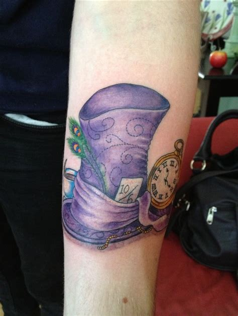 mad hatter tattoo tattoos