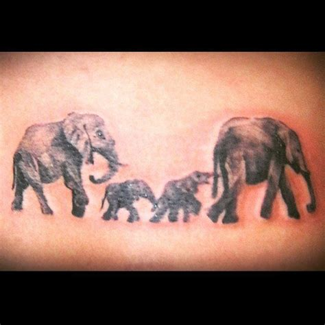 elephant family tattoo 17 best ideas about elephant family on