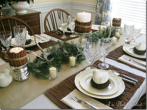 rustic tablescapes rustic woodsy natural tablescape tablescapes pinterest
