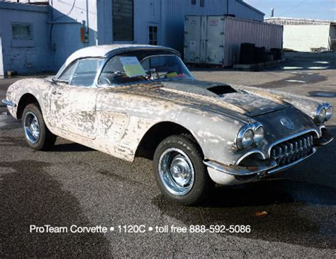 vintage corvette for sale classic corvette for sale 1959 1120c