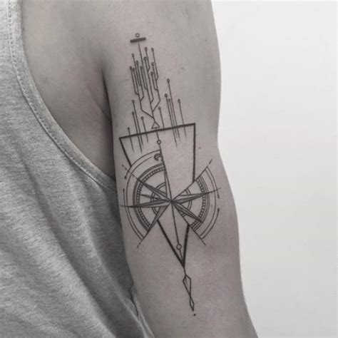 40 geometric tattoo designs for men and women tattooblend