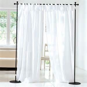 Curtain Rod Set Living Voile Vorhang Set 2 Tlg Wei 223 140 X 250 Cm 100