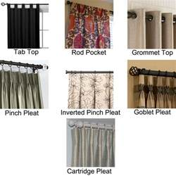 Different Styles Of Hanging Curtains different types of curtains search window treatments curtains hang