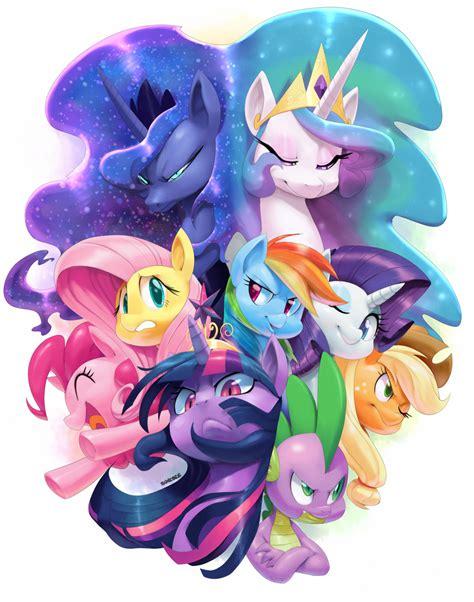 my little pony fan art my little pony friendship is magic 161 guerrilla de