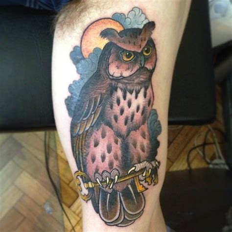 neo traditional owl tattoo neo traditional owl tattoos owl