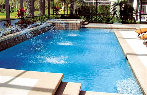 geometric pools geometric pools blue haven custom swimming pool and spa
