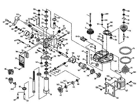 milling machine parts diagram bridgeport vertical milling machine diagram bridgeport