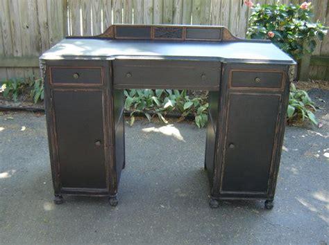 distressed office furniture antique desk black distressed furniture