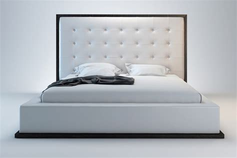 modern bed ludlow modern bed modern beds san diego by real