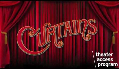 curtains the musical curtains new york live arts