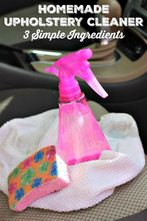 homemade fabric upholstery cleaner best 20 car upholstery cleaner ideas on pinterest clean