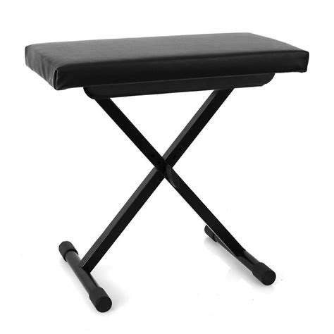 malone piano stool adjustable height black at the best price