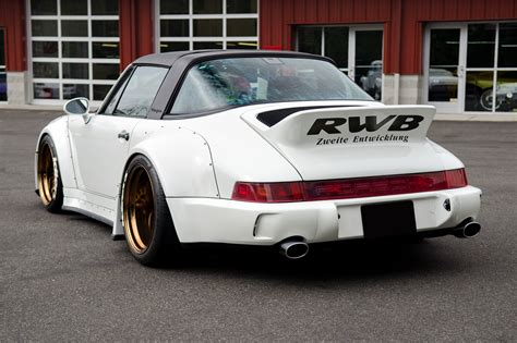 1991 porsche 911 turbo rwb 1991 porsche 911 carrera 2 targa rwb 200731