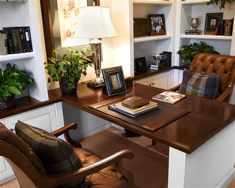 two sided desk home office design ideas pictures remodel and decor