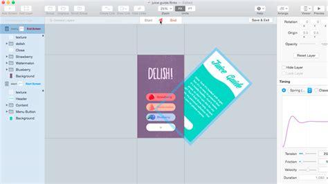 design tools ux design tools flinto for mac