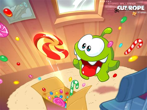 imagenes ocultas en cut the rope experiments cut the rope stereo wallpaper 001 1024x768 by maksim2d