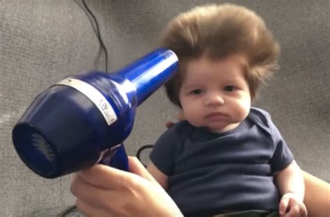 women with alot of hair 7 cute babies with lots of hair