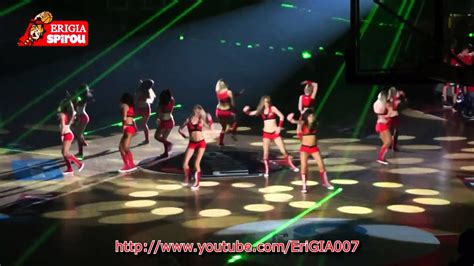 charleroi spirou basket club  coca cola dancers