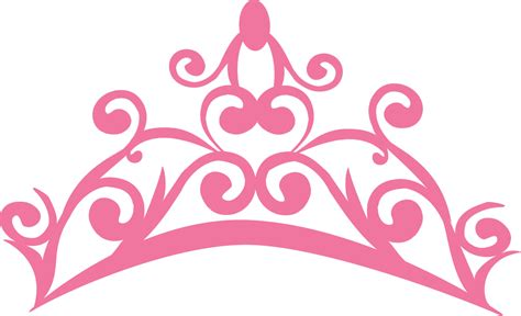 pink logo the gallery for gt princess crown clipart transparent