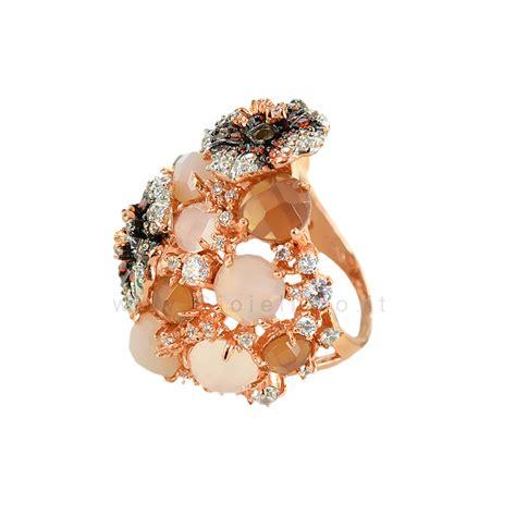 fiori argento anello fiori gioielli samui in argento e pietre preziose