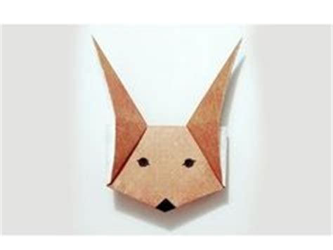 Origami Fox Mask - 1000 images about fox on origami foxes and