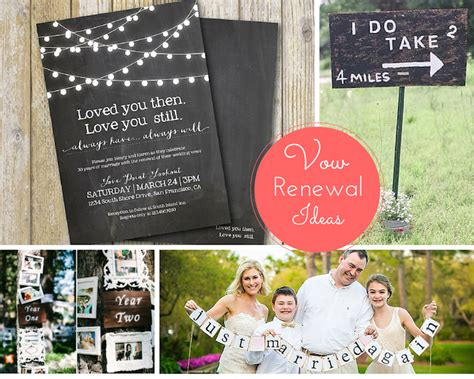 Wedding Vows Renewal Ideas by Anniversary Ideas The Yes
