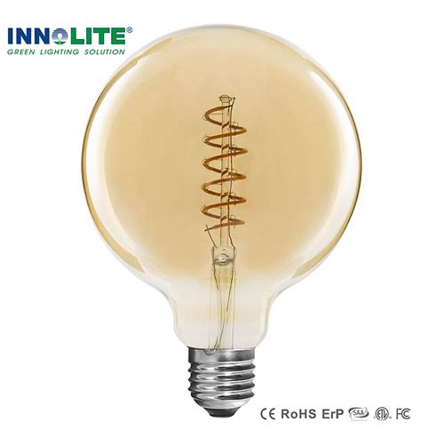 Led Light Bulbs China China Led Filament Bulbs Globe G125 Dimmable Filament Led Globe Bulbs Led