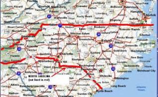 state map of carolina map of carolina