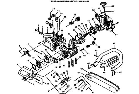 025 stihl chainsaw parts diagram stihl 025 chainsaw parts diagram automotive parts