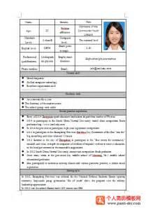 resume template图片