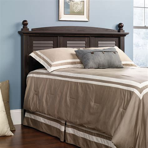 sauder headboard sauder harbor view full queen headboard