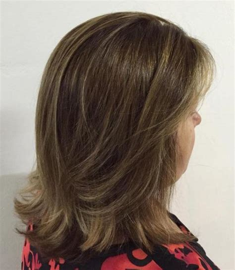 shoulder layered haircut over 50 80 respectable yet modern hairstyles for women over 50