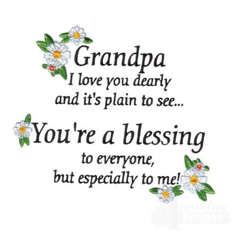 Birthday Quotes For Grandparents I Love Grandpa Quotes Quotesgram
