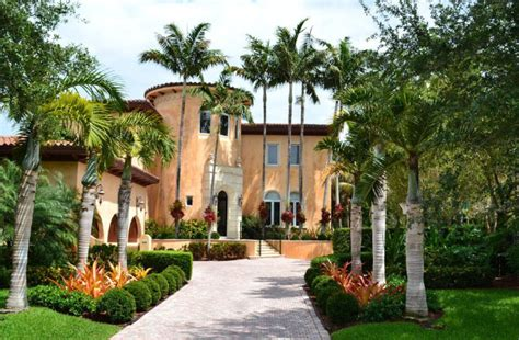 design house associates miami cocoplum private home mediterranean landscape miami