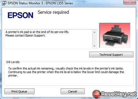 epson l210 waste ink pad resetter key reset epson l220 waste ink pads counter overflow problem