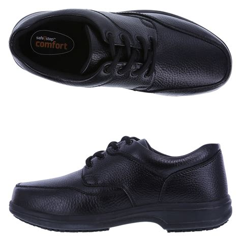 oxford shoes payless safetstep slip resistant s comfort oxford shoe payless