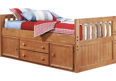 creekside 3 pc captain s bed beds