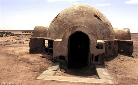 star wars house abandoned star wars sets deep in the tunisian desert like