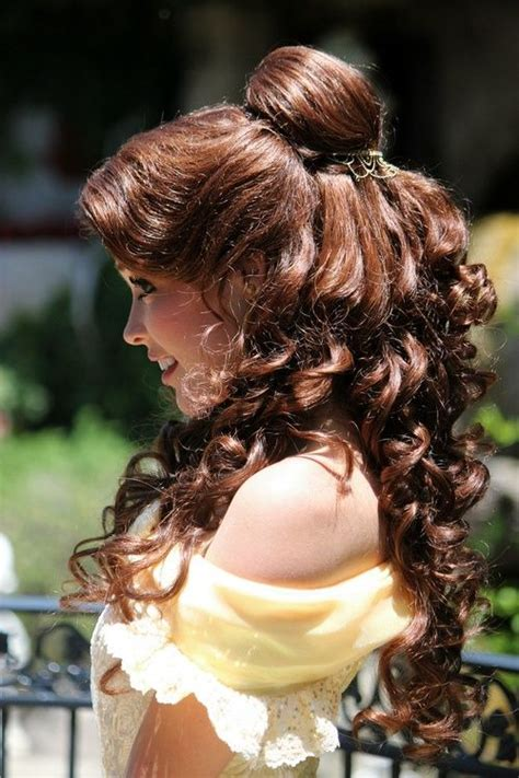 belle hairstyle 23 best belle costume images on pinterest the beast