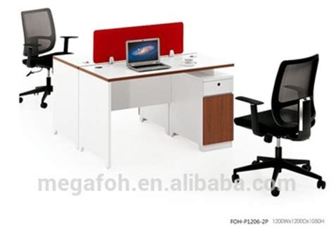 Office Desk Easy Assembly Modular Mfc Partitions Easy Assembly 2 Clusters Office