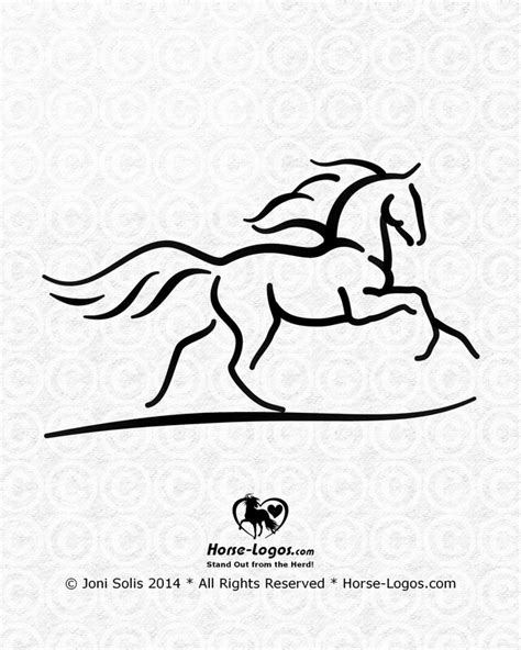 horsebox design graphics horse logo designs