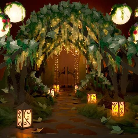 Enchanted Garden Decor Big Money Decor Ideas Place This At The Inside Entrance Tree Canopy Theme Kit S