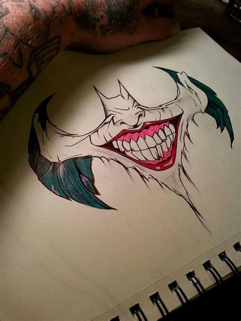 batman joker tattoo the 25 best batman joker ideas on