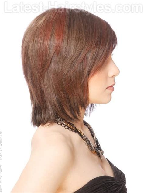 short hair with longer underlayers 10 best images about woman s cuts medium on pinterest