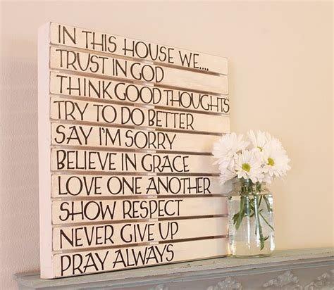 sayings for wall decor a place for family sayings wall