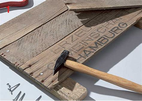 come costruire una cornice cornice in legno fai da te con conchiglie