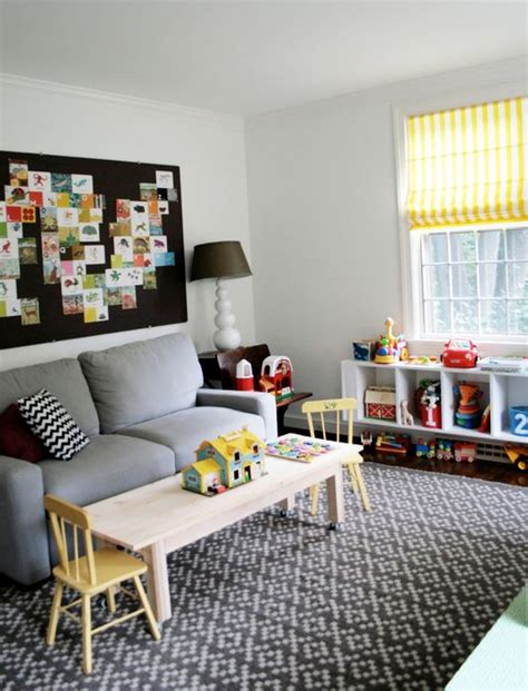 sofa for playroom playroom office area perfect use for the huge bulletin