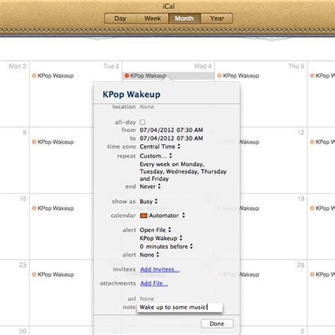 schedule automator workflow 4 easy ways to automate your mac s schedule