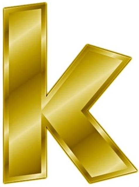Free gold letter k clipart free clipart graphics images and photos