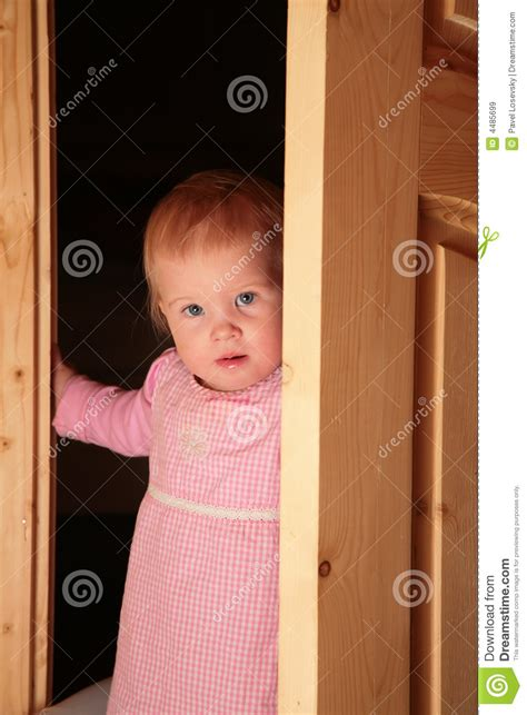 Child The Doors by Child In The Door Royalty Free Stock Images Image 4485699